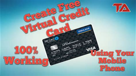 You can save and earn money by taking advantage of rewards and other perks. Create Virtual Credit Card Using Your Mobile Phone For Free!!!! - YouTube