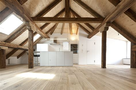 ausbau dachstock rcd schwander sutter architekten