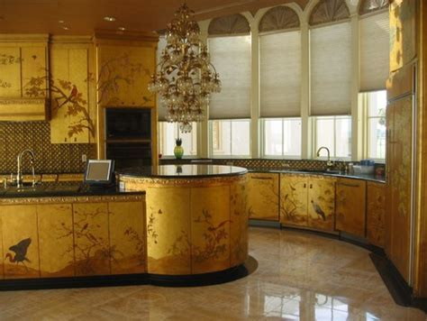 Glam It Up: Gold Kitchens   Abode