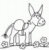 Mule Template Coloriage Imprimer Ane Dessin Dessins sketch template