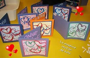 Bricolage Fête Des Pères Maternelle : une carte la moyenne section de lolo f te des parents ~ Melissatoandfro.com Idées de Décoration