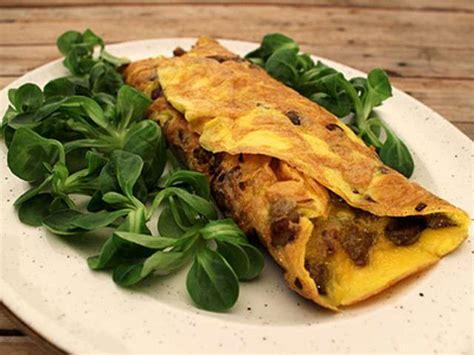 cuisine cepes lalloux omelette aux chignons forestiers