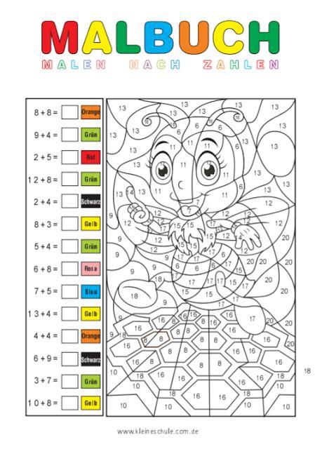 Matheaufgaben klasse 1 mit lösungen ausdrucken und loslegen! Matheaufgaben für 1. Klasse Grundschule - Zahlenraum bis 20 - Tipss und Vorlagen