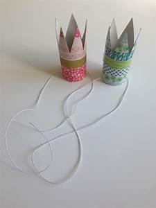 Basteln Mit Papierrollen : paper roll crown krone aus papierrollen toilettenpapier klebeband und kronen ~ Buech-reservation.com Haus und Dekorationen