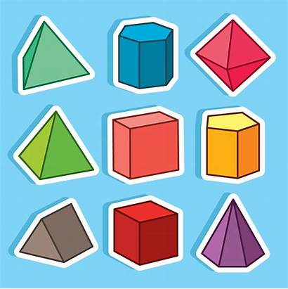 Prism Cartoon Geometric Vector Nice Clipart Graphics