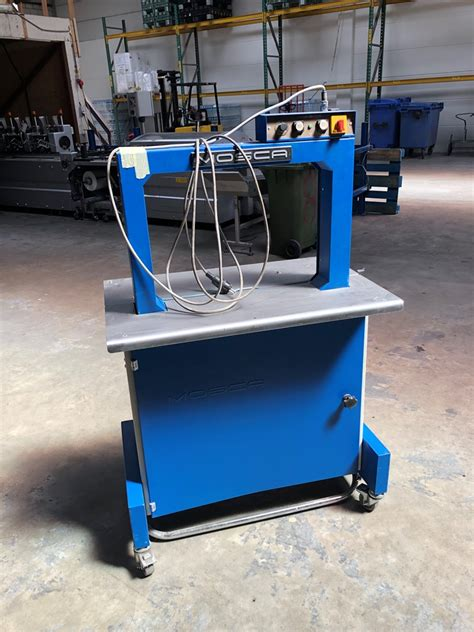 mosca ro  p strapping machine year  presscity