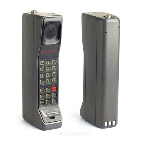 motorola  brick mobile phone vintage analog cell