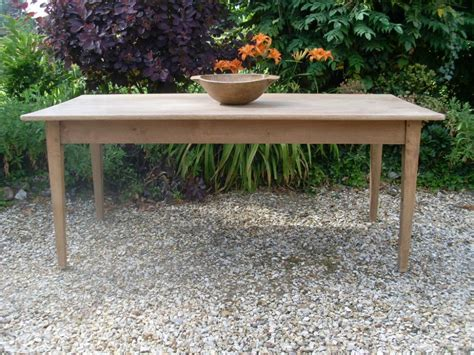 bleached oak dining table a 19thc bleached oak french kitchen dining table seats 8