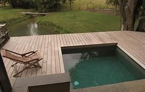 petite piscine piscines carre bleu With petite piscine pour terrasse