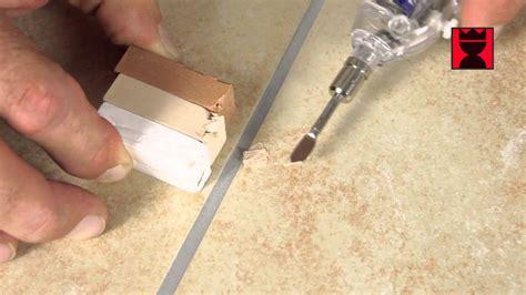 Kleines Loch In Der Bodenfliese Reparieren Youtube