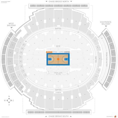 square garden map new york knicks seating guide square garden
