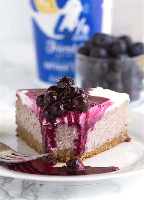 Cottage Cheese Cheesecake Blueberry Cottage Cheese Cheesecake Cookie Dough And