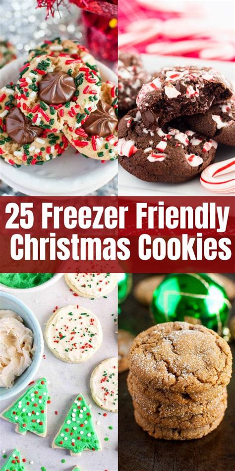 Check out our freezable pack selection for the very best in unique or custom, handmade pieces from our required cookies & technologies. 25 Freezer-Friendly Christmas Cookies | Christmas cooking ...