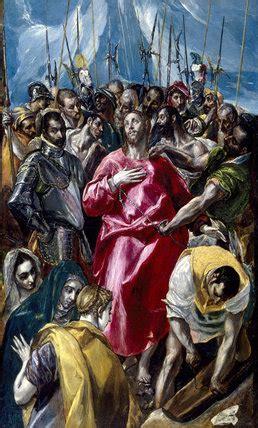 el espolio   disrobing  christ  el greco  upton