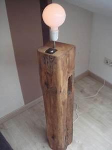 Holz Kaufen Berlin : stehlampe aus holzbalken designlampe vintage rustikal in berlin kreuzberg lampen gebraucht ~ Whattoseeinmadrid.com Haus und Dekorationen