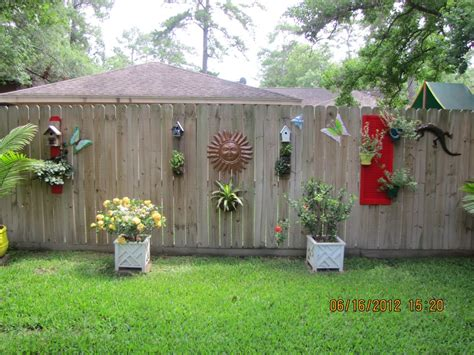 charming combinations  ornament     wooden perimeter wall  outdoor fence