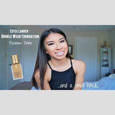 Estee Lauder Double Wear Foundation Review&demosmall Haul