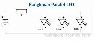 Cara Merangkai Lampu Led  Rangkaian Seri Led Dan Rangkaian