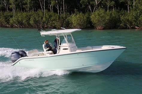 New Center Console Fishing Boats by New Boat Cobia 261 Center Console New Boating