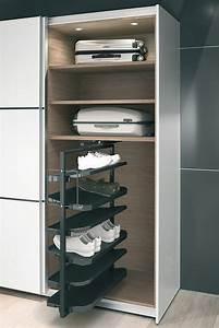 Kommode Für Schuhe : schuhschrankauszug 180 drehbar f r bis zu 20 oder 50 paar schuhe im h fele deutschland shop ~ Frokenaadalensverden.com Haus und Dekorationen