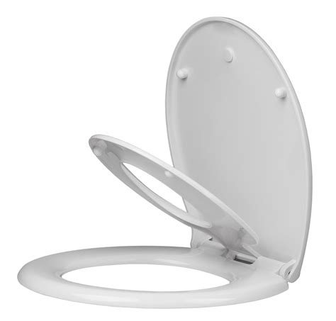 Arian Alpha Child Friendly Soft Close Toilet Seat In White