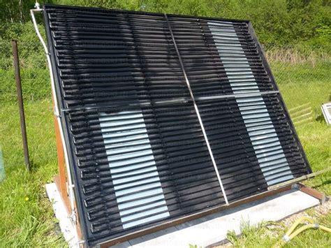 Вакуумный солнечный коллектор для отопления и горячего водоснабжения