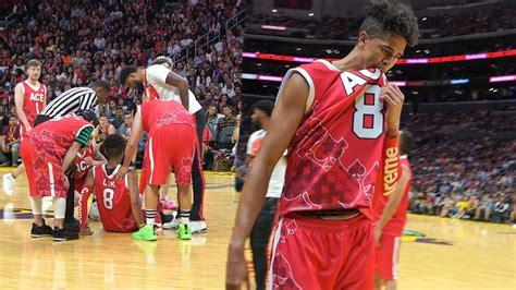 injured   ace family basketball