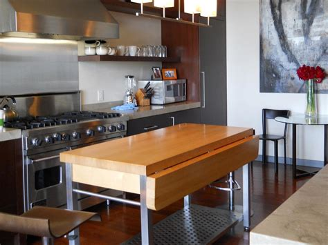 how to build a movable kitchen island portable kitchen islands hgtv