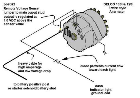 alternator conversion for 312 y block mercury