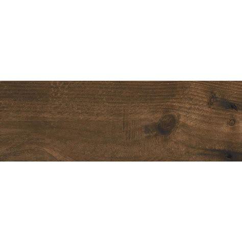 brown tile floor shop ceramicas tesany acadia brown matt wood look ceramic