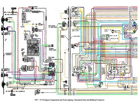 Color Wiring Diagram Finished The 1947 Present Chevrolet Gmc 1972 chevy c10 truck wiring diagram wiring forums