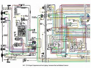 1972 Chevy C10 Pickup Truck Wiring Diagram