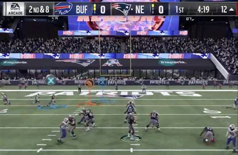 madden nfl  features include target passing