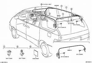 Toyota Estima T Lacr40w-mrsek - Electrical