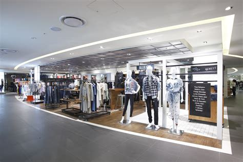 stores for floors interior design by barriscale design studio revealed in newly renovated shinsegae department