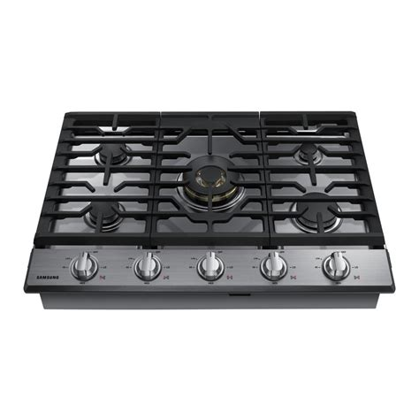 gas cooktop stove samsung 30 in gas cooktop in stainless steel5 burners
