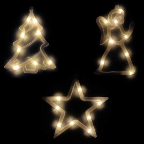 Batteriebetriebene Fensterdeko Weihnachten by Led Fensterbild Silhouette Fenstersilhouette Lichterkette