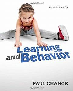 Solution Manual For Learning And Behavior Active Learning