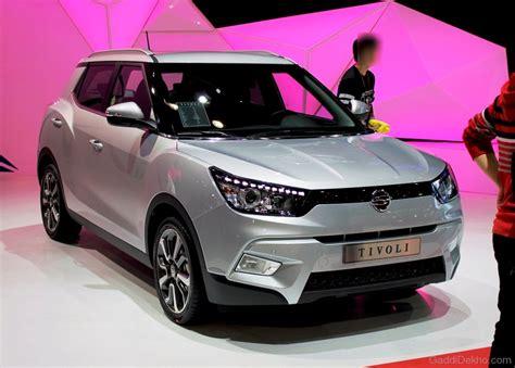 Mahindra SsangYong Tivoli Headlight Image - Car Pictures ...