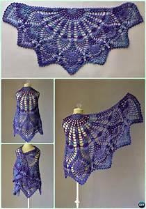 crochet shawl outwear free patterns