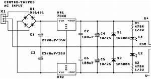 Various Diagram  Dual Power Supply 78xx 79xx Series