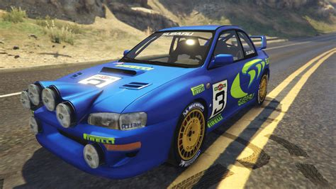 subaru rally subaru impreza wrc 1998 world rally gta5 mods com