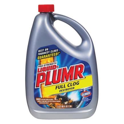 liquid plumber kitchen sink liquid plumr clog destroyer clog remover gel 80 oz 6 7129