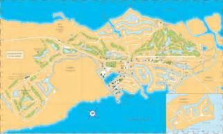 Ocean Reef Club Key Largo Map