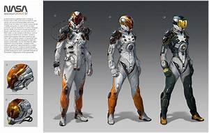 Concept Space Suit Helmet (page 3) - Pics about space