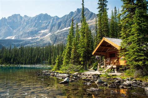 rocky mountain cabins  lake ohara lodge