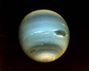 Neptune from First Voyager 2 Flyby   Description (August ...