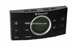 3312024 000 Dometic 10-button Programmable Rv Cccii Thermostat
