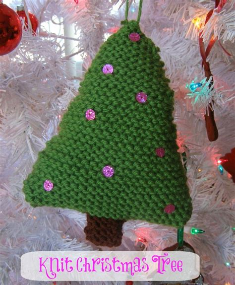 handmade christmas knit christmas ornaments