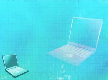 laptop  powerpoint templates